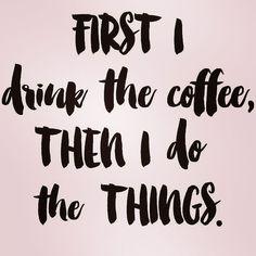 Caffeine first #coffee #caffeine #todolist #happytuesday #goals #life #intentionalliving