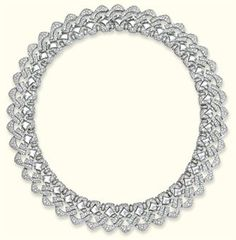 A DIAMOND 'PAGODA' NECKLACE, BY BULGARI