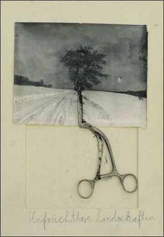 Don't Miss – Paris: Anselm Kiefer 'Unfruchtbare Landschaften' at Yvon Lambert through June 2010 Anselm Kiefer, Collages, Collage Art, Musée Rodin, Edward Hopper, Assemblage Art, Art Plastique, Oeuvre D'art, Mixed Media Art