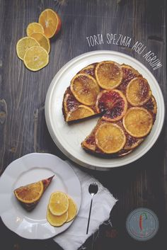 Wintee Citrus Upside Down Cake #recake2.0 #arance