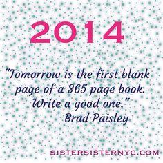 #FreshStartMonday: New Year Resolutions