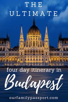 BUDAPEST, HUNGARY | Budapest is a fantastic European destination city that should be added to everyone's list! Don't miss our Four Days in Budapest Itinerary for Families here! | what to do in Budapest with four days, 4 days in Budapest, family travel to Budapest, What to do in Budapest with 4 days, Europe destinations, best European cities, Gothic Revival, best architecture, gorgeous buildings.
