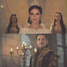 I wish this really happened. But Robin died😭. Once Upon A Time, The Queen Is Dead, I Am A Queen, Regina Ouat, Robin And Regina, Sean Maguire, Get Funky, Regina Mills, Outlaw Queen