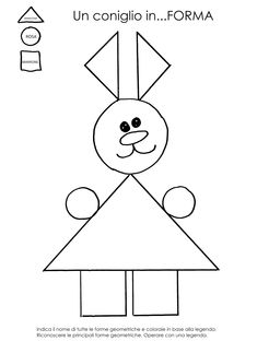 The Draw my picture game Preschool Math, Preschool Worksheets, Math Resources, Creative Teaching, Teaching Kids, Kids Learning, Easter Activities, Preschool Activities, Shape Crafts