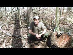 Batoning Wood With A Knife- School of Self Reliance