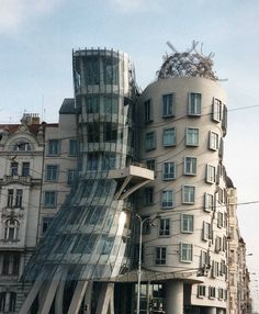 Dancing House, Prague City. The Fred and Ginger building.