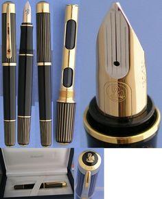 Pelikan ductus Gold fountain pen     #trobee #pens #trobeepens @trobeepens