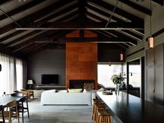 This contemporary take on a traditional farm house in Flinders was a custom renovation by Canny Architecture.