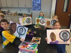 First grade artists looked at quite a variety of portraits and noticed the differences between portraits and self-portraits. We compar...