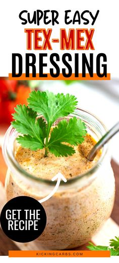 This low carb Tex Mex Salad Dressing that you can make on the weekend for meal prep is PERFECT for my keto diet. I am so happy I found this delicious simple recipe. Is is easy to make and SO full of flavor. Low Carb Taco Salad, Low Carb Salad Dressing, Salad Dressing Recipes, Healthy Salad Recipes, Lunch Recipes, Dinner Recipes, Low Carb Summer Recipes, Low Carb Recipes, Lunch Ideas