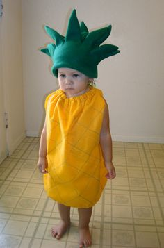 Baby Costume Pineapple Costume Toddler Costume by TheCostumeCafe