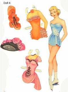 Hollywood Glamour - a few different sets of dolls and clothes