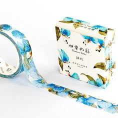 Washi Tape - Blue Iris