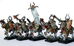 Showcase: Warriors of Chaos Knights - Tale of Painters