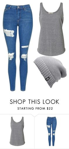 """""""Untitled #471"""" by cuteskyiscute on Polyvore featuring Topshop and The North Face"""