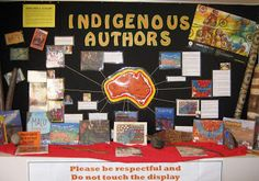 Illinois Authors...Several cool library displays