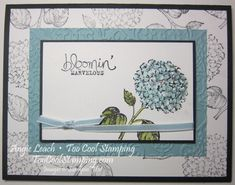Best of Flowers - Hydrangeas by Angie Leach - Cards and Paper Crafts at Splitcoaststampers