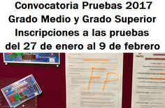 Pruebas Libres de Acceso a Grado Medio y Grado Superior. #FP #FormaciónProfesional #Madrid February 9, Summoning, Baccalaureate, Degree Of A Polynomial, Community