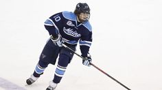 The Vancouver Canucks have signed Maine junior defenseman Ben Hutton to an NHL entry-level contract.