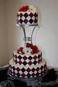Harlequin Cake Checkered