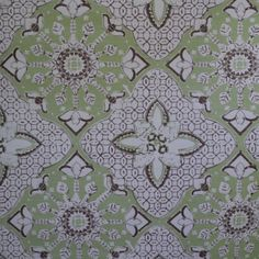China Seas New Batik   Custom Celadon / Brown   Linen/Cotton   3 yards available   $70 per yard   email info@maddiegdesigns.com to inquire.