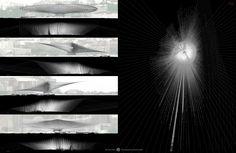 """Unbuilt Visions 2013 d3space Special Mention  El proyecto 10577 Rays in Helsinki obtuvo la distinción Special Mention: Landscape Intervention en el concurso internacional Unbuilt Visions 2013 de d3space.  Los paneles formaron parte de la exposición de Unbuilt Visions organizada en la Türk SMD en Ankara y también formarán parte de la publicación """"Unbuilt Visions I""""."""