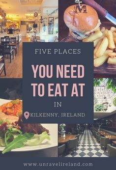 5 places to eat you NEED to try in Kilkenny - Unravel Ireland Best Places To Eat, Ireland, Posts, Blog, Messages, Blogging, Irish