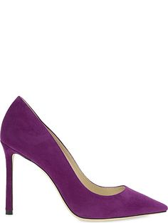 JIMMY CHOO Romy 100 suede madeline courts