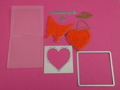 New Lot of 9 x Tattered Lace/Tonic Dies, Stamps, Embossing Folder RRP £25.00
