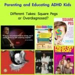 Parenting ADHD Kids and two takes on ADHD. #parenting #kbn