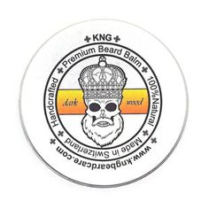 KNG BeardCare Bartbalm dark wook Beard Balm, Team Logo, The Balm, Hairstyle, Top, Designer Stubble, Tattoo Care, Face Hair, Beauty Products