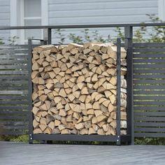 Puuteline Wood Rack 360 ulko- ja sisäkäyttöön