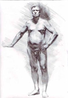 Figure Drawing By Samuel Schultz