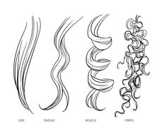 Comment dessiner des cheveux – Expolore the best and the special ideas about Illustrator tutorials Pencil Art Drawings, Art Drawings Sketches, Illustrator Tutorials, Art Tutorials, Drawing Techniques, Drawing Tips, Girl Hair Drawing, Drawing Hair Tutorial, Pelo Anime
