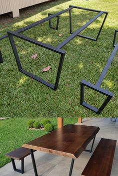 Mesa Exterior, Diy Welding, Diy House Projects, Ana White, Ping Pong Table, Cabana, Home Decor Inspiration, Sweet Home, Industrial