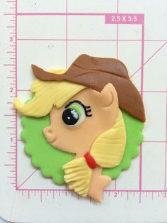 12 my little pony cupcake toppers inspired by InscribingLives