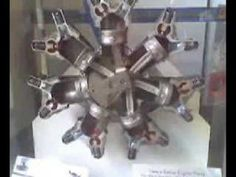 How a Radial Engine Works