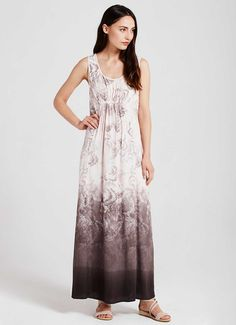 Fleur Print Maxi Dress