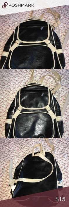 Times backpack in  great used condition. Few flaws shown in the last two pics. otherwise it is in a newish condition Times Bags Backpacks