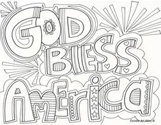 Independence Day coloring pages from Doodle Art Alley. Print and Enjoy!