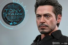 Hot Toys Tony Stark with Arc Reactor Creation Accessories Collectible Set