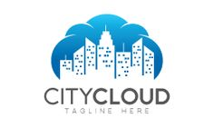 City Cloud Logo Template