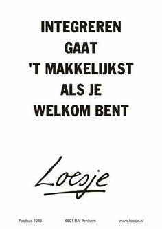 Leven en laten leven! /Integratie /samenleven