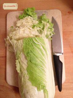 Ça croustille !: SOUPE CROQUANTE AU CHOU CHINOIS ET VERMICELLES Viet Food, Chinese Food, Entrees, Meal Prep, Cabbage, Food And Drink, Menu, Vegan, Vegetables