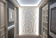 Interlam - MDF - Wavy Wall Panels  - 3d Wall Panels - Decorative Wall Panels