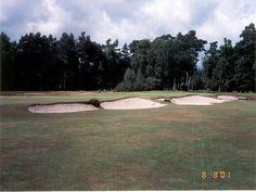 Golf teren West Sussex, Sussex, UK
