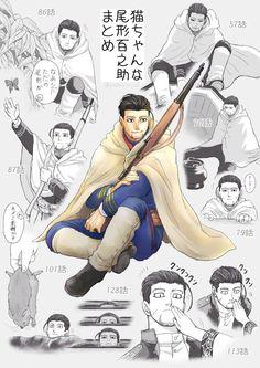 """きりりん on Twitter: """"猫ちゃんな尾形百之助… """" Neko, Otaku, Anime, My Arts, Animation, Fan Art, Manga, This Or That Questions, Comics"""