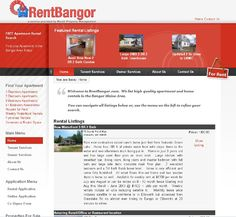 Marsh Property Management - We list high-quality apartment and home rentals in the Bangor Maine Area. FREE Apartment Rental Search