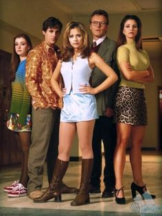 Buffy the Vampire Slayer...one of my all-time favorites.