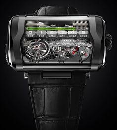 HYT H3 watch titanium - Perpetuelle